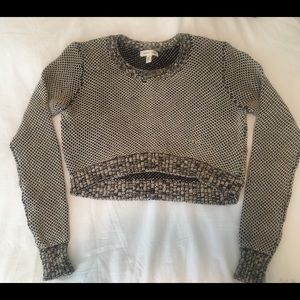 Cropped Urban Outfitters Sweater (Silence + Noise)